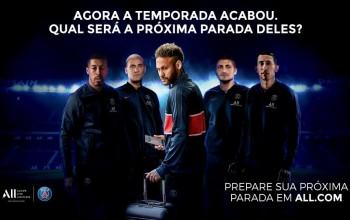 Accor lança nova campanha com Neymar e mais jogadores do Paris Saint-Germain