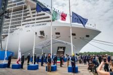 MSC Cruzeiros recebe oficialmente o novo navio MSC Seashore