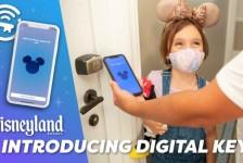 Disneyland Resort lançará chave digital para abrir quartos de hotel direto pelo app