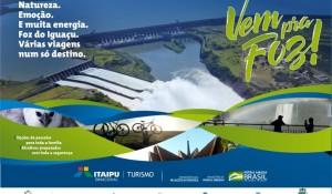 Foz do Iguaçu lança segunda edição da campanha de retomada 'Vem pra Foz'