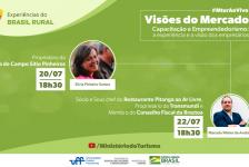 MTur promove série de lives voltadas ao desenvolvimento do turismo rural
