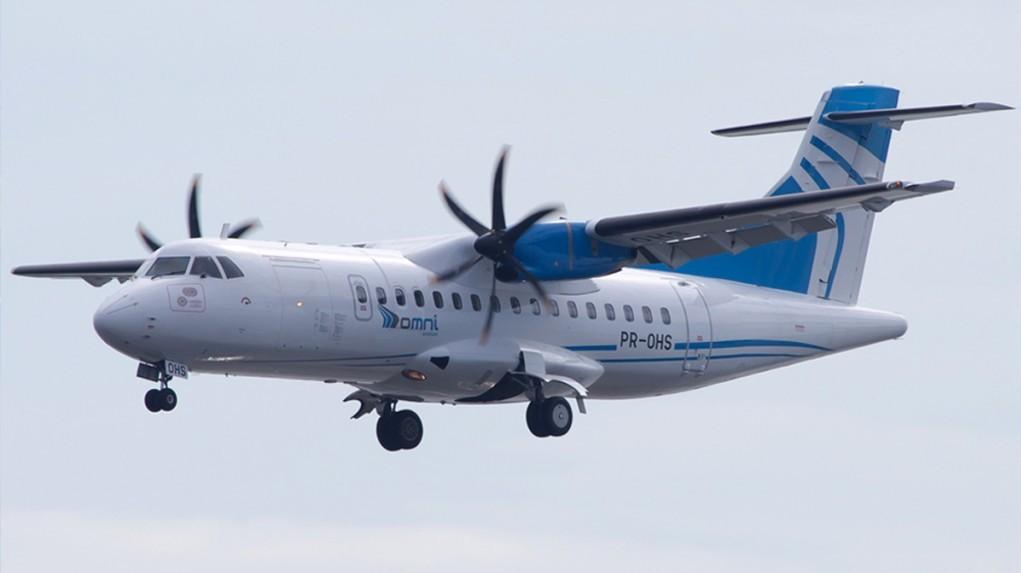 ATR-42-500 da OMNI Aviation - Foto Divulgação