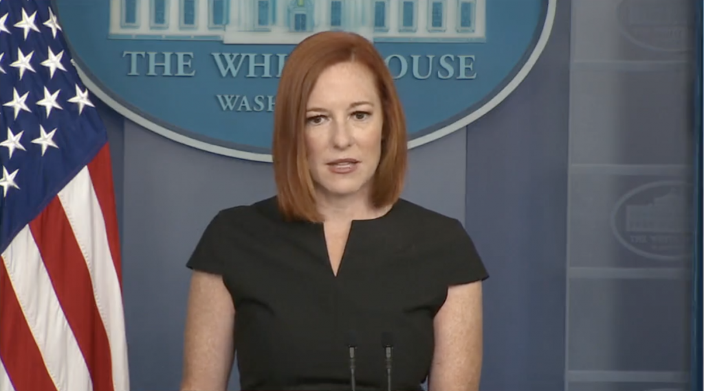 Secretária de Imprensa da Casa Branca, Jen Psaki