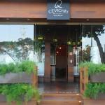 Entrada do QCevitche, único restaurante de comida peruana de Copacabana