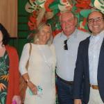 Gabriella Mota, gerente geral do Mercure Boutique Copacabana, Rosa Masgrau e Roy Taylor, do M&E, e Tomás Ramos, da BHG