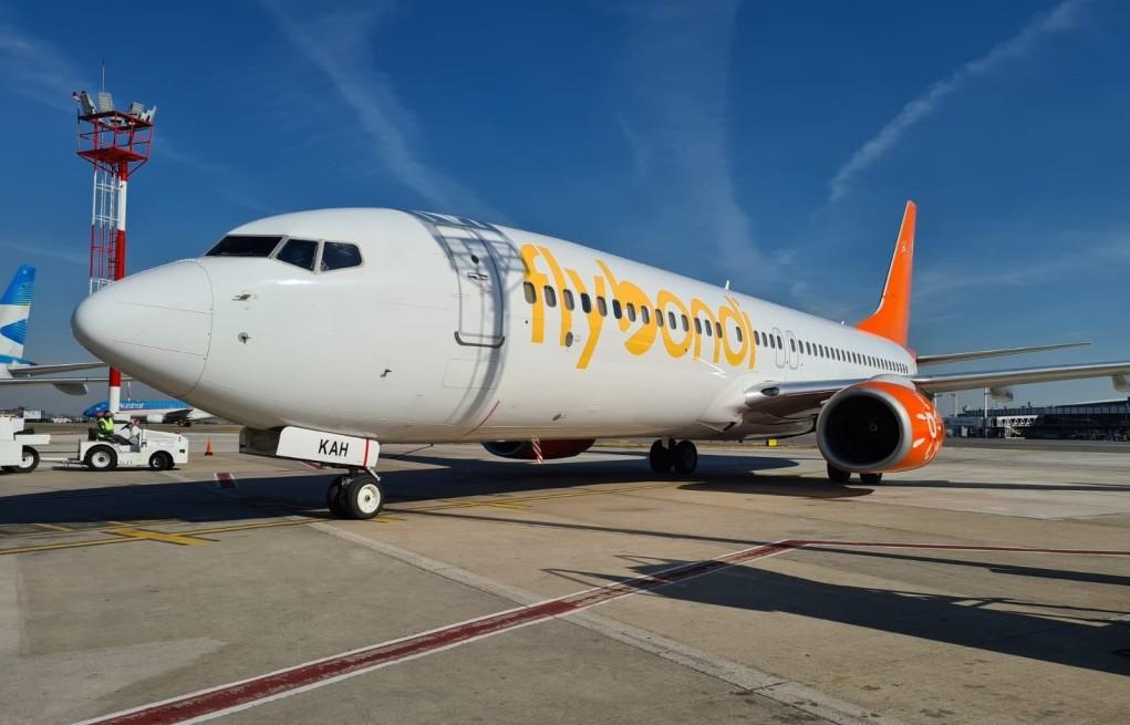Nuevo avión en Ezeiza