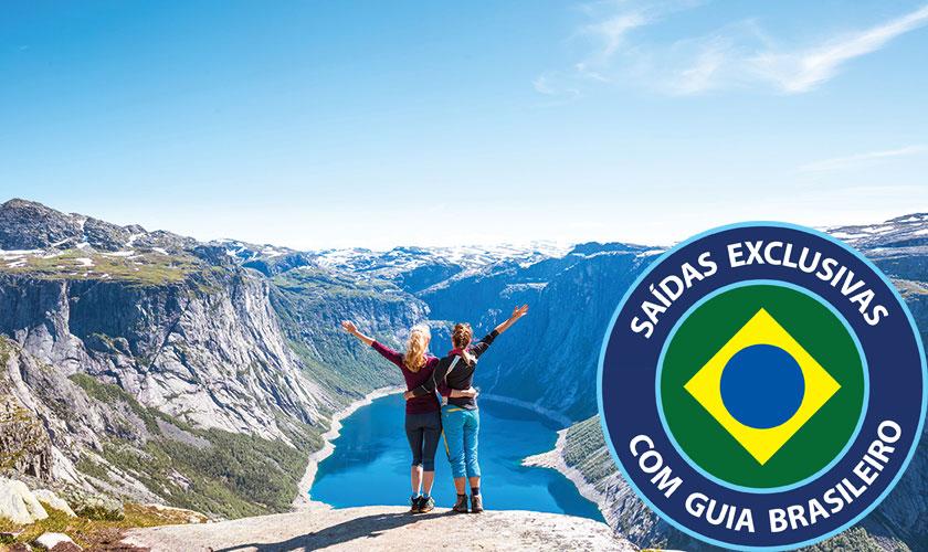 Roteiro de 11 dias pelos Fjords é uma das ofertas para o mercado brasileiro