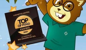 Top of Mind: Laghetto é a empresa mais lembrada do RS no quesito hotelaria