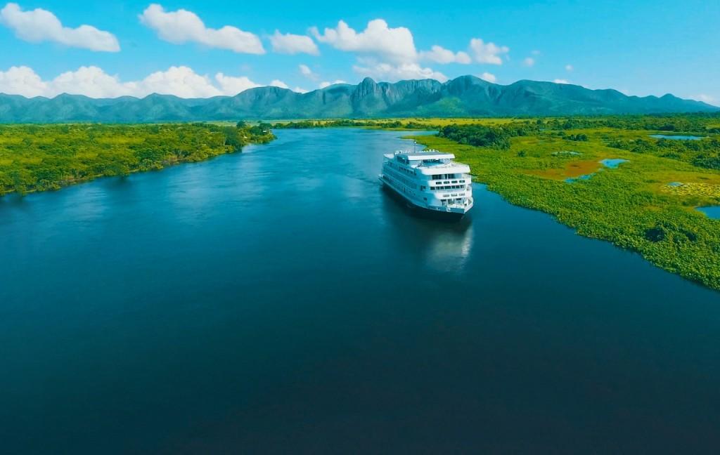 MS Kayamã navega no segundo semestre no Pantanal