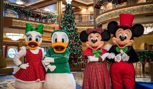 Disney Cruise Line inicia celebrações de Natal em novembro