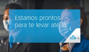 KLM lança segunda fase de campanha sobre retomada de viagens e reencontros