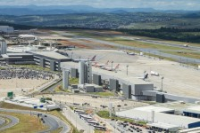 Confins é eleito o melhor aeroporto do Brasil em agosto