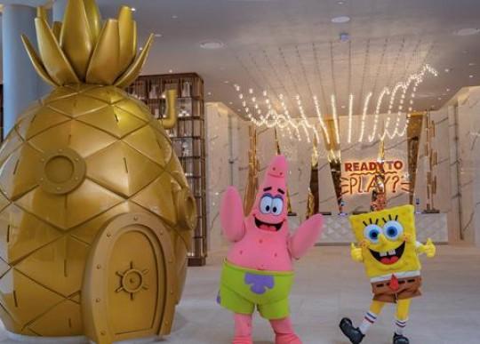 Nickelodeon Resort é inaugurado no México com parque aquático e 280 suítes