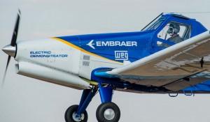 Embraer dá início a ensaios em aeronaves 100% elétricas