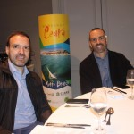 Fernando Lermi, da CVC Corp, e Raphael Magalhães, da Visual