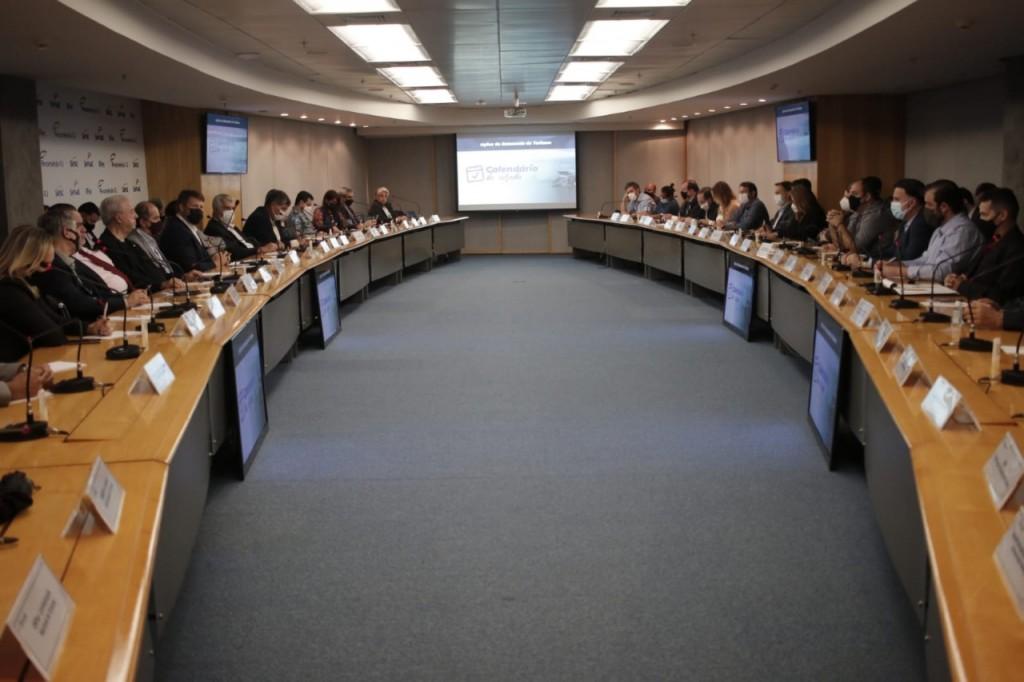 Reunião do CET Foto Flávio Cabral