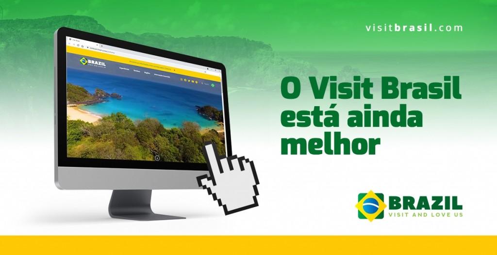 Novo site Visit Brasil da Embratur