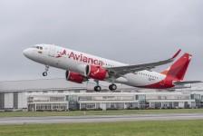 Avianca escolhe serviços da própria Airbus para reconfigurar cabine do A320