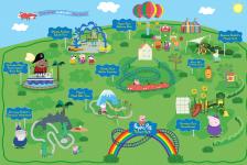 Legoland Florida revela atrações e cenários de novo parque da Peppa Pig
