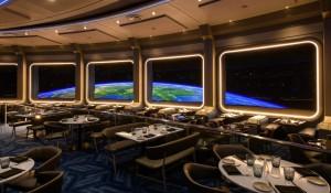 Disney inaugura 'restaurante espacial' no Epcot
