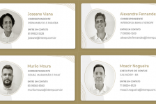 Interep expande atuação no Nordeste com quatro novos contratados