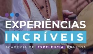 Braztoa dará bolsas para nova temporada do programa 'Experiências Incríveis'