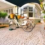 Hóspedes contam com bicicletas