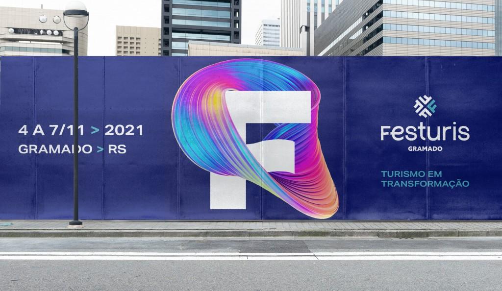 Identidade visual Festuris 2021