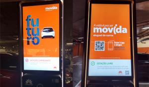 Movida fecha parceria que proporciona carregamento grátis de carros elétricos