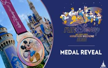Disney revela medalhas comemorativas de suas maratonas de 2022; fotos