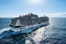 MSC mantém Belisssima no Mar Vermelho e Arábia Saudita para 2021/22