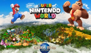 Universal Studios Japan inaugura área temática de Donkey Kong em 2024
