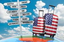 Buscas por voos aos EUA sobem até 353% após anúncio de reabertura
