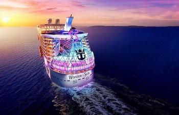 Com estreia marcada, Wonder of The Seas ganha pacotes para 2022 no Caribe