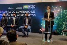 Anac, MInfra e CCR formalizam concessão de seis aeroportos do Bloco Central