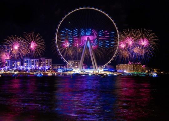 Roda-gigante mais alta do mundo é inaugurada em Dubai