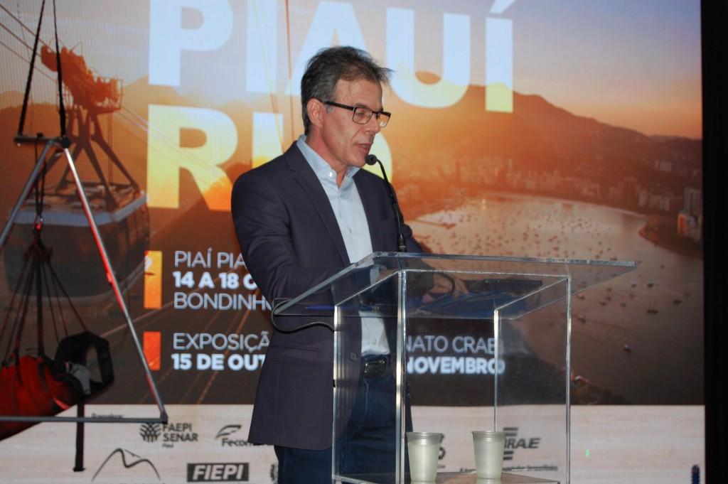 Mário Lacerda, diretor superintendente do Sebrae no Piauí