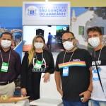 Equipe de São Gonçalo do Amarante na Abav Expo