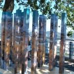Escultura contrasta pontos turísticos do Rio e Piauí