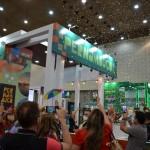 Estande de Pernambuco em festa após o anúncio que receberá a Abav Expo 2022