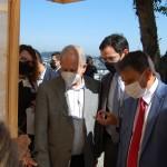 José Guilherme Ribeiro, superintendente do Sebrae MT, Delano Rocha, diretor técnico Sebrae Piauí, e Wellington Dias, governador do Piauí