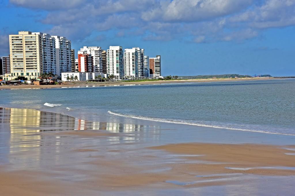 Praia da Ponta d'Areia maranhão são luís