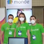 Werike Santos, Fernanda Lino, Giovanni Brogin, da Monde