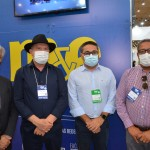 William França, do MTur, com o governador do Tocantins, Mauro Carlesse, governador de Tocantins, Jairo Mariano, da Agência de Turismo de Tocantins, e Tom Lyra, da agência de Mineração de Tocantins