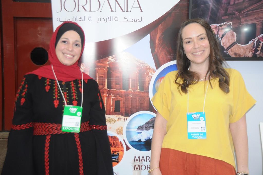 Yasmin Sholi e Patricia Bastos, da Jordânia