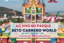 Adibra promoverá passeio virtual pelo Beto Carrero nesta semana