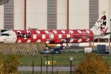 Segunda aeronave da Azul em homenagem aos 50 anos da Disney é flagrada