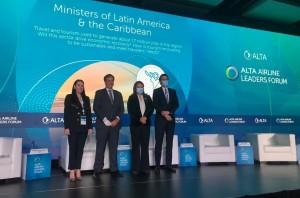 Fórum Alta: ministros de Brasil, Colômbia e Equador projetam oferta conjunta de viagens